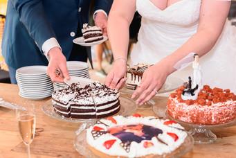 Taart- bruiloft vakantiepark eigenwijze