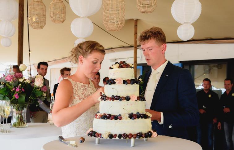 Receptie bruiloft
