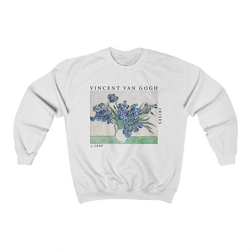 Van Gogh Irises Sweatshirt