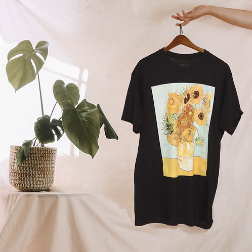 Van Gogh Sunflowers Tee