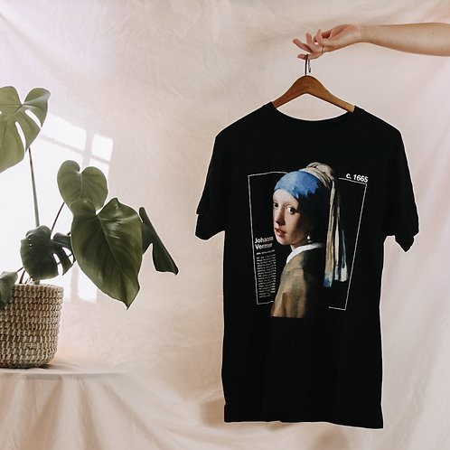 Girl with a Pearl Earring Tee