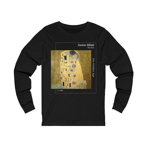 Klimt The Kiss Long Sleeve Tee