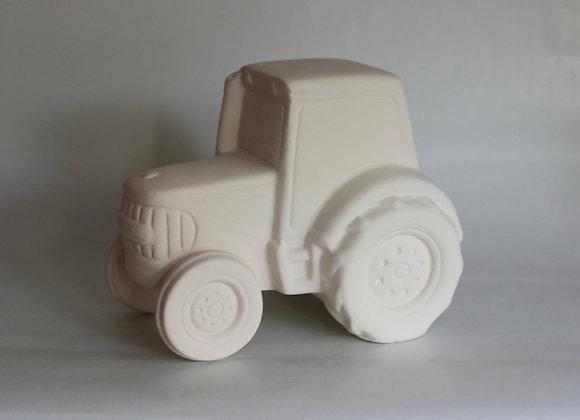 Spardose Traktor