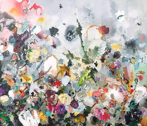 Beau.jpg bloemen bloemenschilderij martine de ruiter galerie annee haarlem