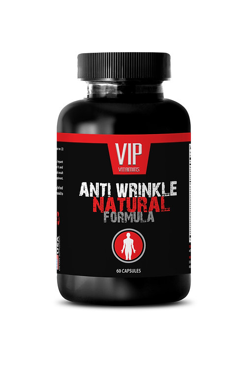 ANTI WRINKLE NATURAL FORMULA - HELP REDUCE WRINKLE