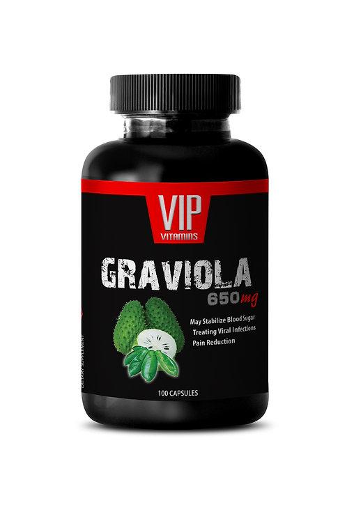GRAVIOLA EXTRACT 650MG - POWERFUL ANTIOXIDANT