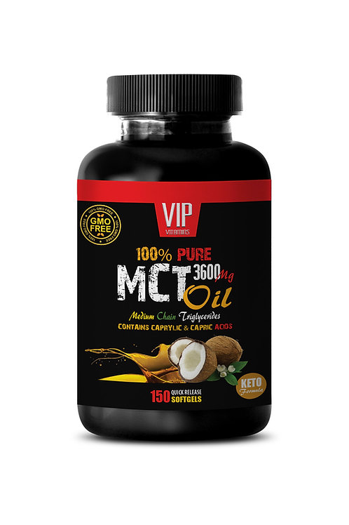 PURE MCT OIL 3600MG