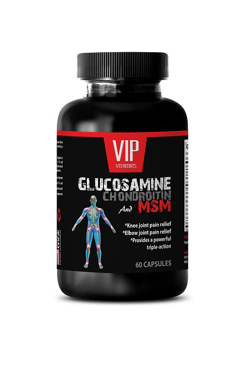 GLUCOSAMINE and MSM - SUPPORTS JOINT HEALTH