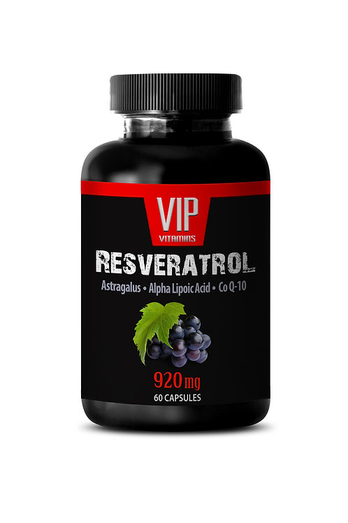 RESVERATROL PLUS FORMULA WITH CQ10 - PREMIUM BLEND