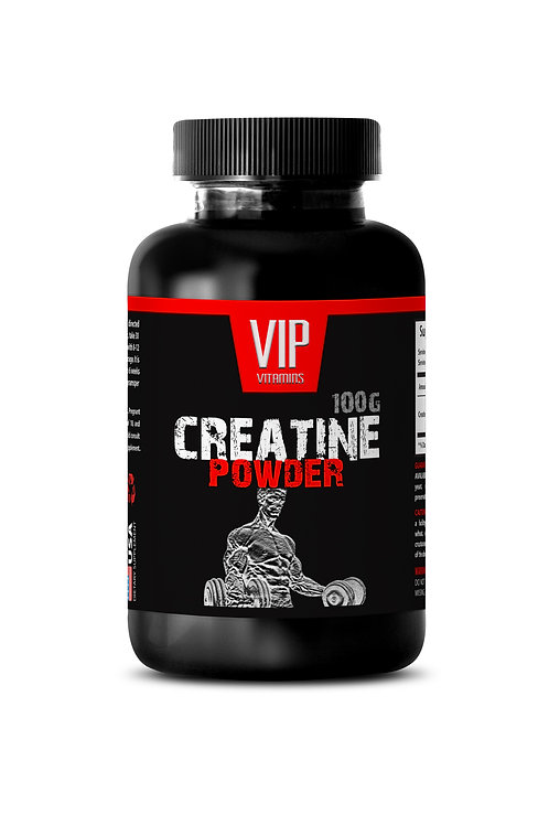 PURE CREATINE POWDER 100G - INCREASE MUSCLE MASS