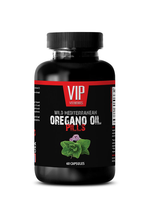 OREGANO OIL EXTRACT PILLS - NATURAL EXTRACT