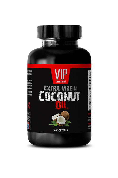 COCONUT OIL - EXTRA VIRGIN 3000MG - SOFTGELS
