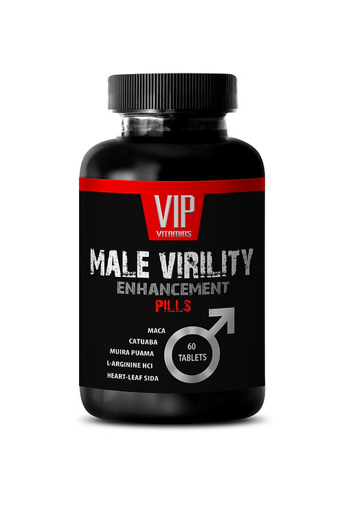 MALE VIRILITY PILLS - NATURAL TESTOSTERONE BOOSTER