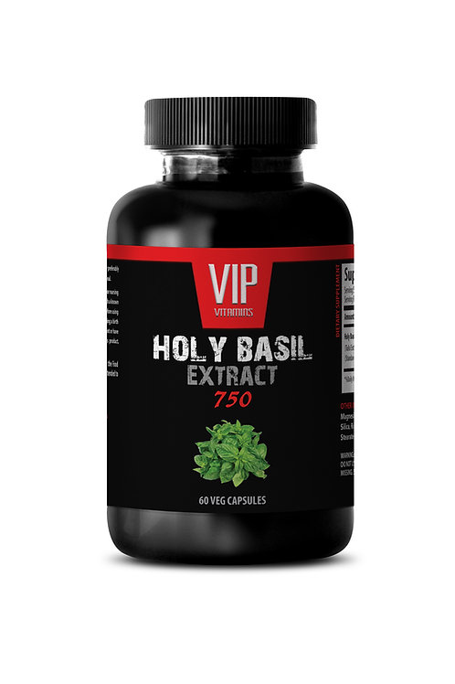 HOLY BASIL EXTRACT - NATURAL ADAPTOGEN SUPPLEMENT