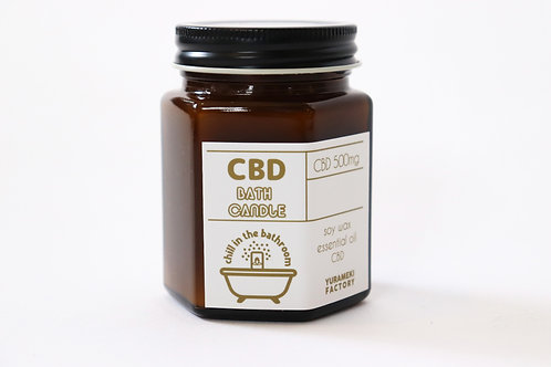 EL-011  CBD BATH CANDLE