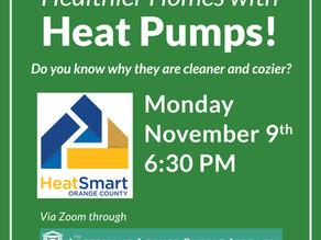 Healthier Homes with Heat Pumps via Zoom