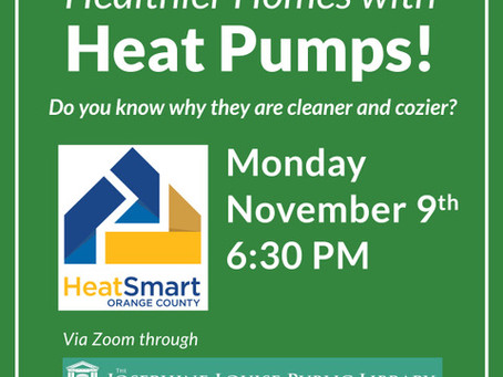 Healthier Homes with Heat Pumps via Zoom