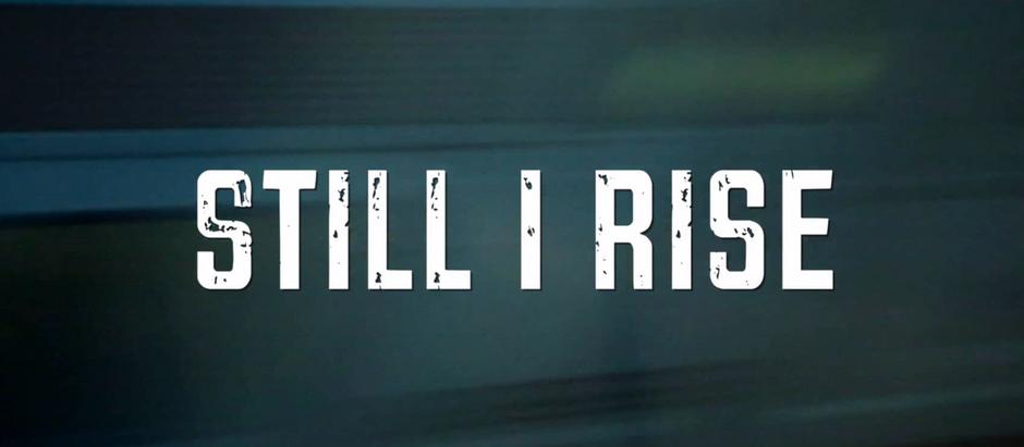 Still I Rise Trailer - Video Editing - SF Bay Area - DOHP