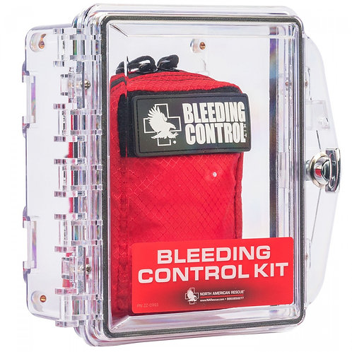 Public Access Bleeding Control Kit - Wall Mount - Single Pack