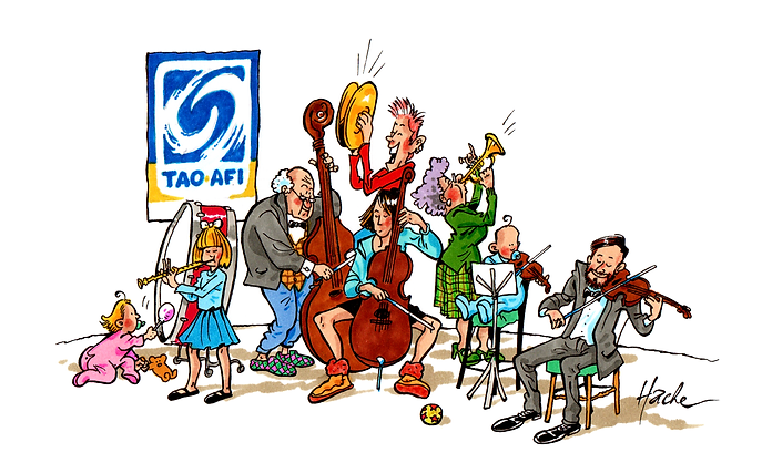 Tao-Afi caricature orchestre tous ages.p