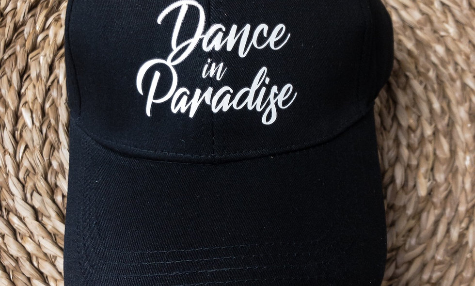 Casquette Black DANCE IN PARADISE