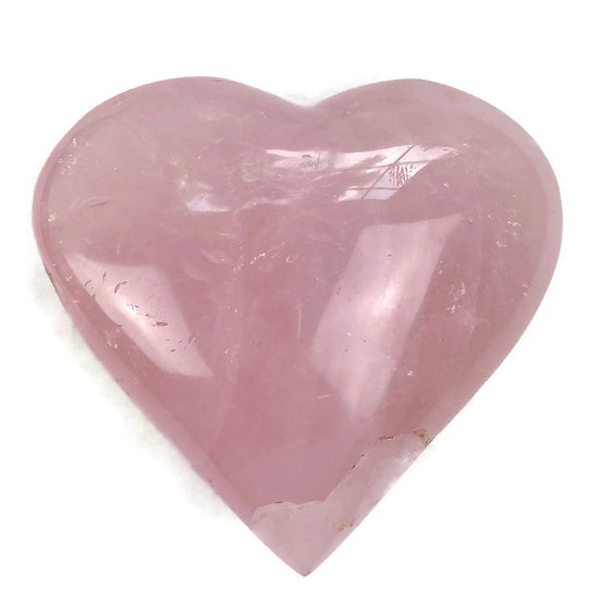 ROSE QUARTZ HEART for Love, Attraction & Passion