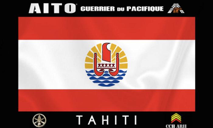 Drapeau Aito TAHITI