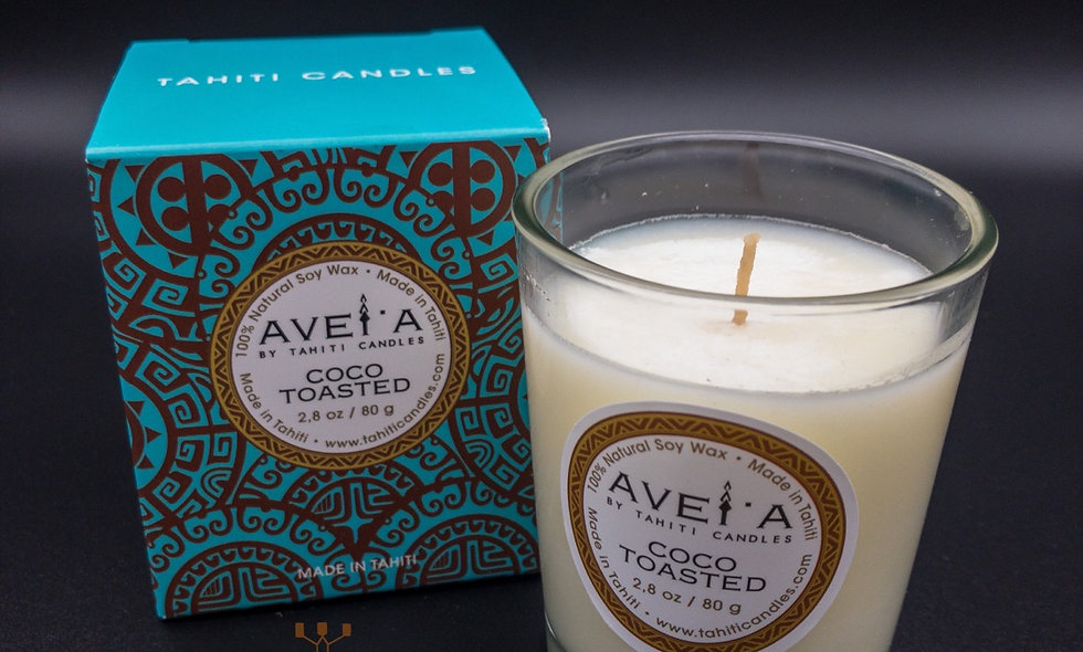 Bougie Coco Toasted TAHITI CANDLES