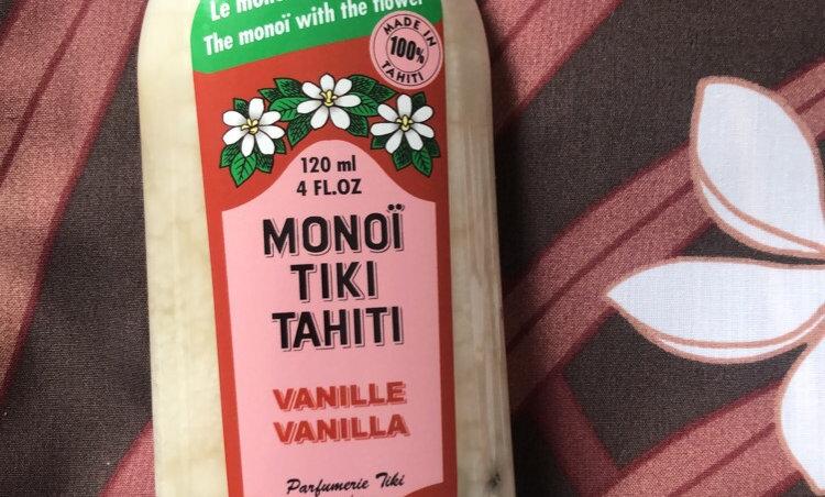 Monoi Vanille TIKI MONOI TAHITI 120ml