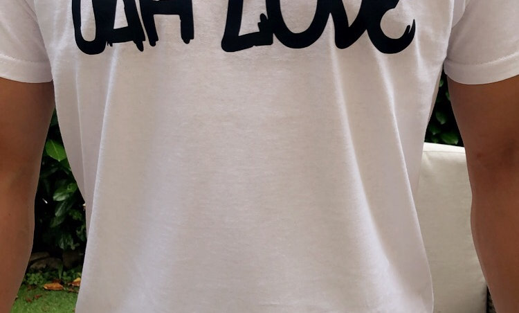 """T-SHIRT TANE """"JAH LOVE"""""""