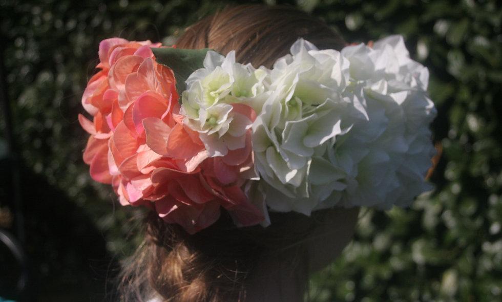 Couronne de fleurs 💐