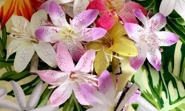 Fleur de Lys sur pince