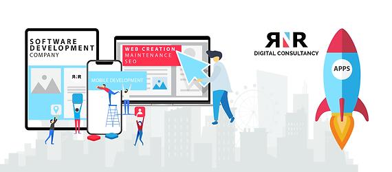 RNR Digital Consultancy Logo