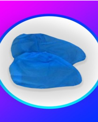 Protection Shoe Cover PP SS NON WOVEN 40GSM. COLOR BLUE