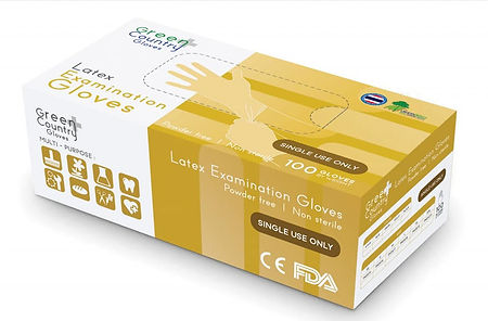 GREEN COUNTRY Latex & Nitrile Powder Free Gloves