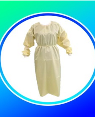 Woven Surgical Gown AS NOMINATE FABRIC CAN MAKE SURGICAL GOWN