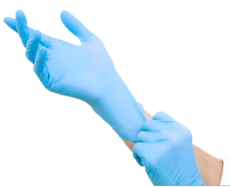 AMY GROUP Synthetic Latex Nitrile Gloves