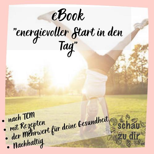 """eBook """"energievoller Start in den Tag"""""""