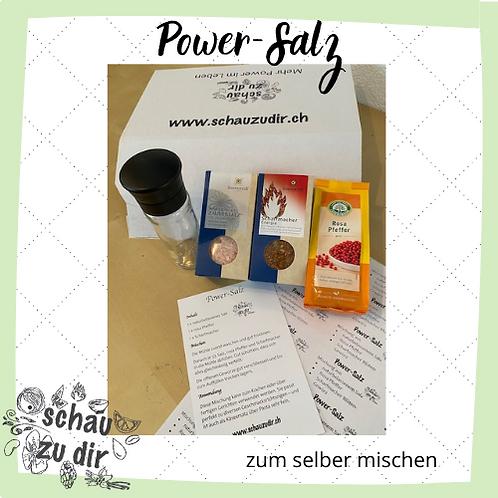 Power-Salz zum selber mischen