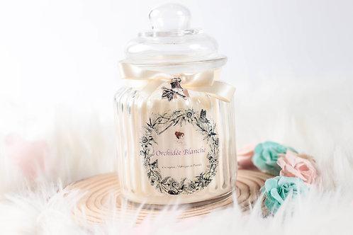 Bougie Orchidée Blanche