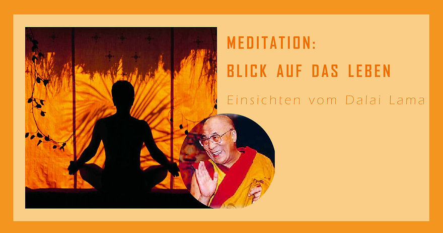 Meditation Ansichten Dalai Lama Titel.jp