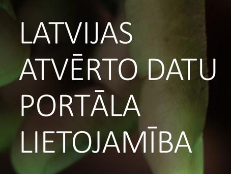 Kā uzlabot Latvijas atvērto datu portāla lietojamību?