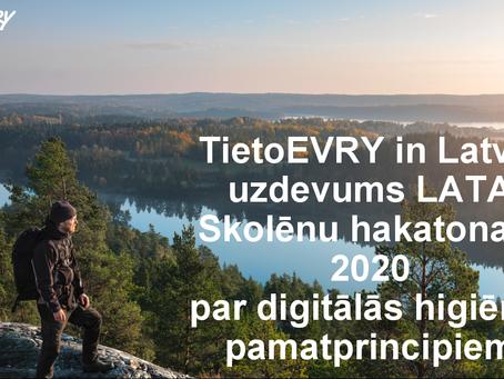TietoEVRY in Latvia uzdevums un rezultāti LATA skolēnu hakatonā
