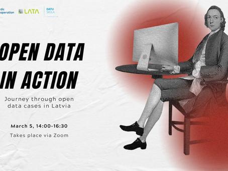 Aicinām piedalīties diskusijā par atvērto datu aktualitātēm un izaicinājumiem Latvijā