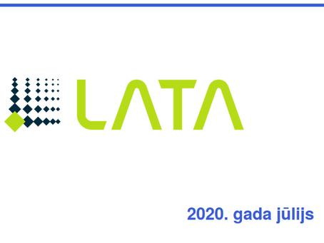 Iznākušas 2020. gada jūlija LATA e-ziņas