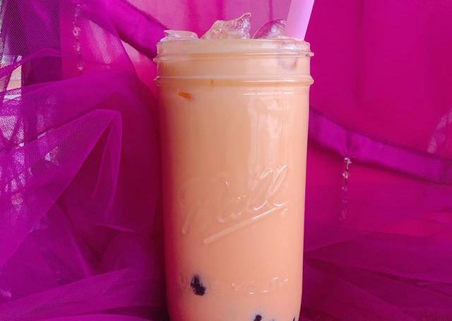 papaya bubble tea