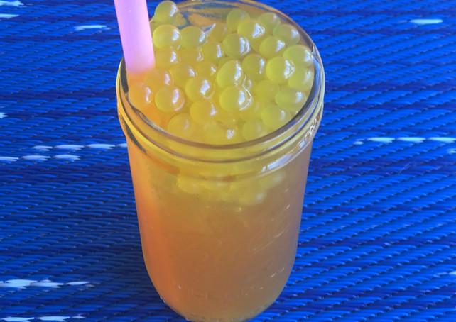 passionfruit bubble tea