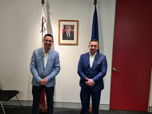 Catch up with Maltese Consul General