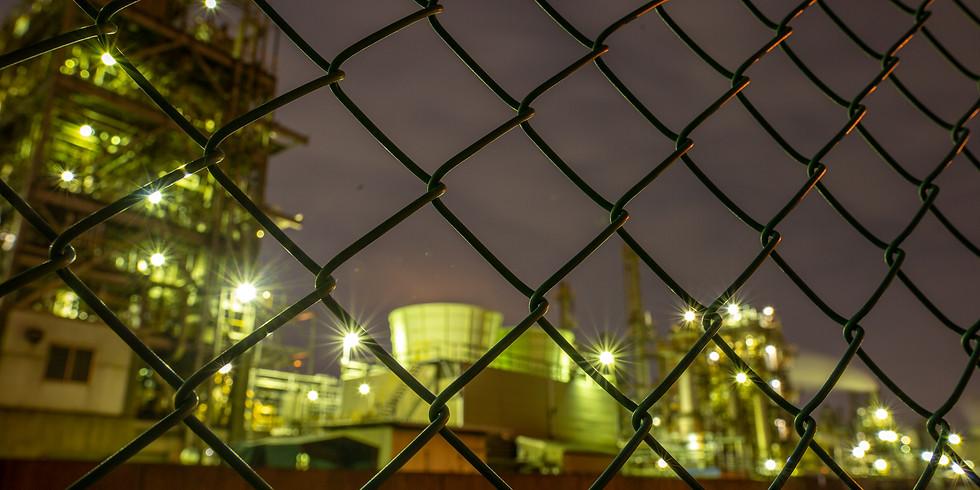 川崎浮嶋工場地帯夜景撮影
