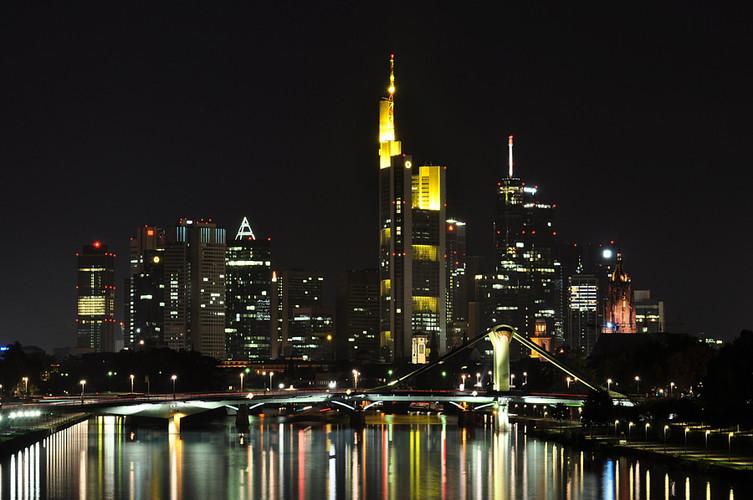 Frankfurt Mainhattan Skyline
